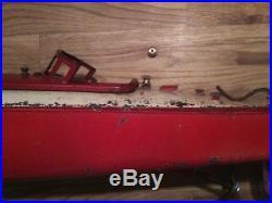 Ecrou moleté patiné pour fixation des ponts de canots JEP
