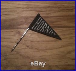 Fanion Noir pour les canots HORNBY pennant flag boat in Black