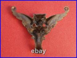 Figure de proue originale d'époque pour bateau vapeur Radiguet jouet ancien 1900