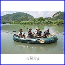 Fish Hunter FH 360 Bateau pêche pour 4 personnes Vert Fish Hunter FH 360