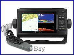 Garmin Echomap Plus 62cv Écho Sondeur GPS Cartographique Nautique pour Bateau