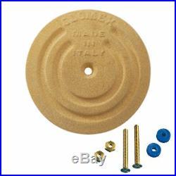 Glomex RA202 Rond Sol Plate-128mm 12.7cm Diamètre pour Côte / Voile Bateau /
