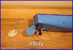 Gouvernail et axe pour les canots Hornby Racer II Swift, bateaux Rudder Boat