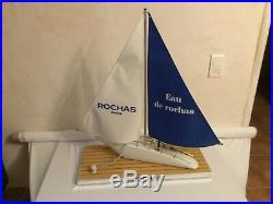 Grand maquette de bateau Voilier, Présentoir de parfum pour homme