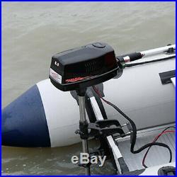 HANGKAI Moteur électrique hors-bord pour Bateau Pneumatique Contrôle 8CV 48V DHL