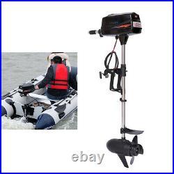 Hangkai Moteur hors-bord électrique 10HP pour bateau de pêche gonflable 60V2200W