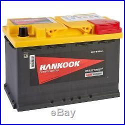 Hankook SA57020 AGM Batterie Décharge Lente Pour Caravane Camping Car Bateau