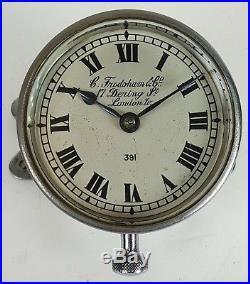 Horloge Pour Bateau. C. Frodsham Et La Société. Londres XX Siècle