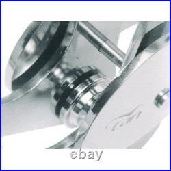 Inox Bugrolle Avec Bascule 400x92x200mm Pour Ancre À 30kg, Bateau Chaîne D'Ancre