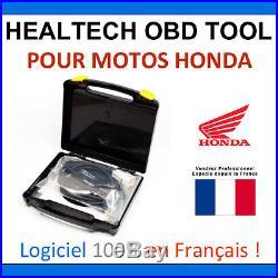 Interface de diagnostic HealTech OBD Tool pour Honda Motos & Bateaux OBD2