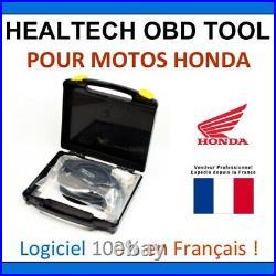 Interface de diagnostic HealTech OBD Tool pour Honda Motos & Bateaux OBDII