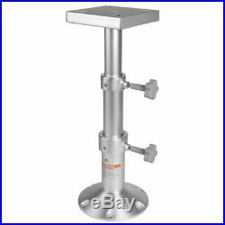 Jambe pour Table Bateau ou Camper Télescopique en Aluminium