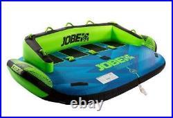 Jobe Sonar 4P Tractable Tube Fun-Tubes Sport Aquatique Bateau Pour 4 Personnes