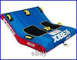 Jobe pour Bateau Kickflip 2 Tractable Funsport Tube