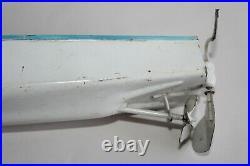 Jouet ancien, Bateau métal JEP Ruban Bleu N° 0 pour pièce
