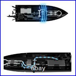 Jouet électrique de hors-bord de bateau à télécommande RC pour les enfants