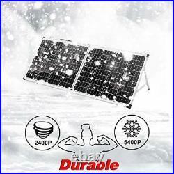 Kit Panneau solaire pliable Idéal pour bateau, camping-car, véhicule divers, mer