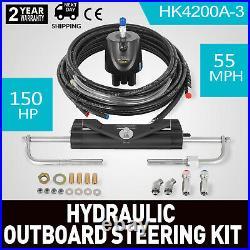 Kit de Pompe de Direction Marine 150HP Hors-Bord Hydraulique HC4645H pour Bateau