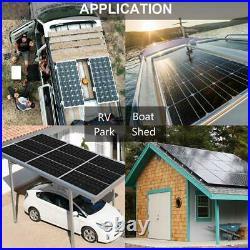Kit de panneau solaire 120W 240W avec batterie lithium 20Ah pour bateau caravane
