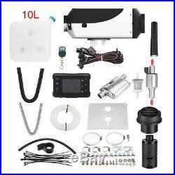 LCD 24V 5000W Diesel Air Heater Chauffage Voiture Pour Bateaux Motorhome Car