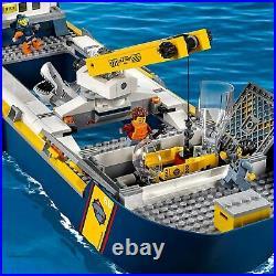 LEGO City Le bateau dexploration océanique 60266 Jouet pour Multicolore