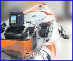 LUCKY Fish Finder pour la pêche en bateau Pêche en kayak 3,5 pouces écran à