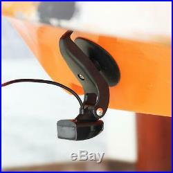 LUCKY Fish Finder pour la pêche en bateau Pêche en kayak 35 pouces écran coul