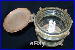 Lanterne de haut de mat pour bateaux Trois mats et goelette