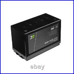 LiFePO4 Batterie BMS 100Ah 12.8V pour Caravane Camping Marine Bateau Solarpanel