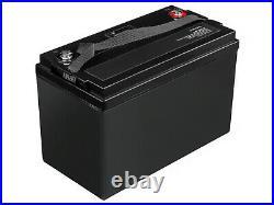 LiFePO4 Batterie BMS 125Ah 12.8V pour Caravane Camping Marine Bateau Solarpanel