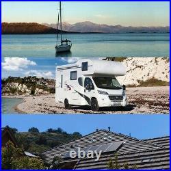LiFePO4 Batterie BMS 60Ah 12.8V pour Caravane Camping Marine Bateau Solarpanel