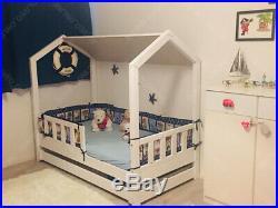 Lit cabane Lit pour enfantslit d'enfant, lit cabane Lit de bateau 5 jours