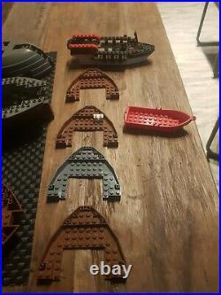 Lot lego Coques de Bateaux Pirates, accessoires pour compléter Bateaux pirates
