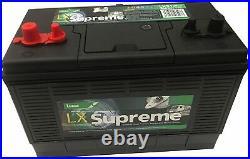 Lucas Dual Purpose Loisirs Marine Lx31 Batterie pour Bateaux Camping-Cars