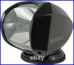 Marinco SPL-12B Projecteur Marin pour Bateau 12v 24v 100w avec Télécommande Noir