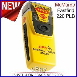 Mcmurdo Fastfind 220 Plb Personnel Repère Phare 406/121.5MHz pour Bateau
