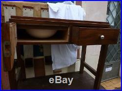 Meuble de toilette pour bateau art deco