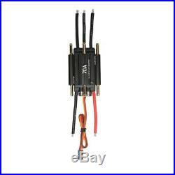 Moteur Brushless 4200kv 2958 41mm Refroidissant Veste ESC pour Bateau RC