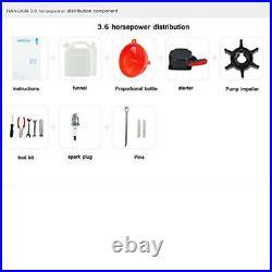 Moteur Essence Pour Bateau Arbre Court Moteur Hors DEFR 2-Temps CDI System 3.6CV