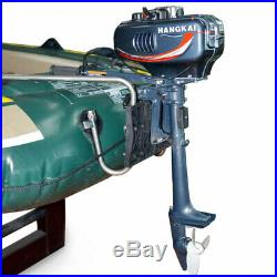 Moteur Hors-bord Moteur à Deux Temps 2.5KW(3.5HP) Pour Bateau de Pêche Gonflable