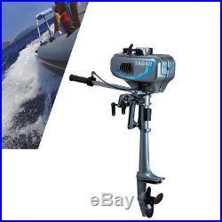 Moteur électrique 3.5CV à deux temps pour bateau hors-bord Refroidissement à eau