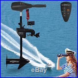 Moteur électrique 32 lbs 12 V pour Gonflable Outer bord Barque bateau Hors-bord