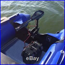 Moteur électrique 40 lbs 12 V pour Gonflable Outer bord Barque bateau Hors-bord