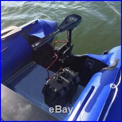 Moteur électrique 55 lbs 12 V pour Gonflable Outer bord Barque bateau Hors-bord