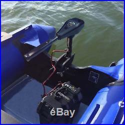 Moteur électrique 62 lbs 12 V pour Gonflable Outer bord Barque bateau Hors-bord