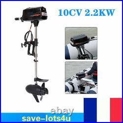 Moteur électrique Hors Bord 10CV 48V 2200W Pour Bateau Non-Brossée Moteur