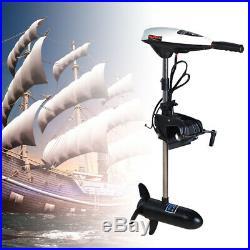 Moteur électrique hors-bord à la traîne 45 lbs 480W pour bateau de pêche
