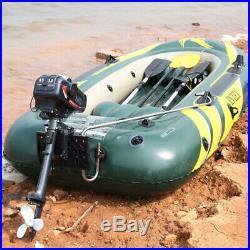 Moteur essence pour bateau et barque Moteur hors-bord 3.5 hp 3.5 CV 2 TEMPS NEUF