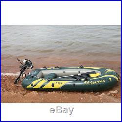 Moteur hors-bord à 4 temps, 4,0 ch pour bateau de pêche ou bateau gonflable 52cc
