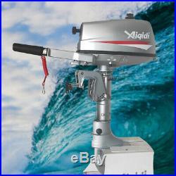 Moteur hors-bord pour bateau, 2 temps, 7 CV avec refroidissement par eau